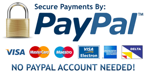 PayPal/Credit Card Payment